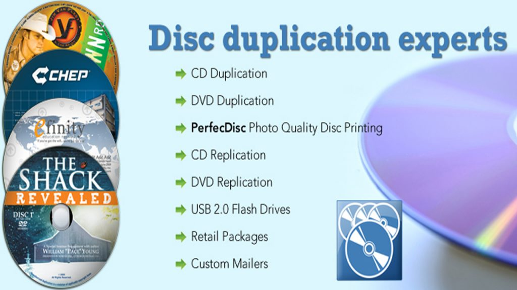 CD/DVD Duplication
